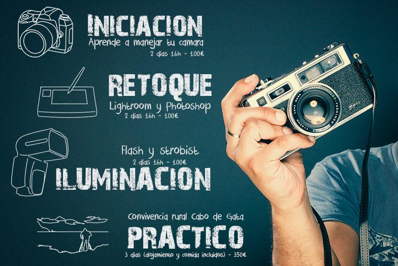 Cursos de fotografia en Madrid