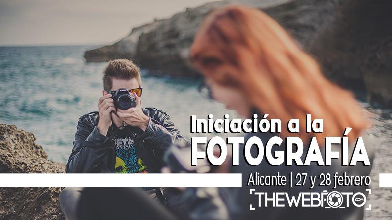 Curso de iniciación a la fotografia en alicante